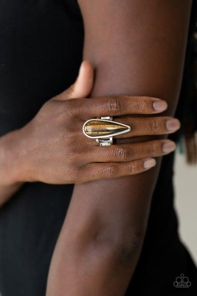 Spiritual Awakening Brown Ring