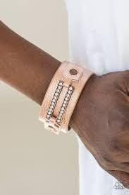 Street Glam Copper Bracelet