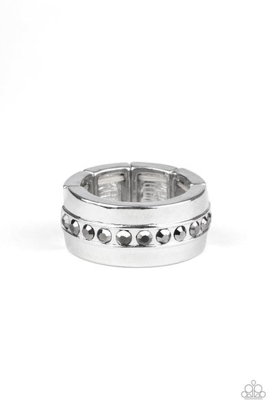 Reigning Champ Silver Mens Ring