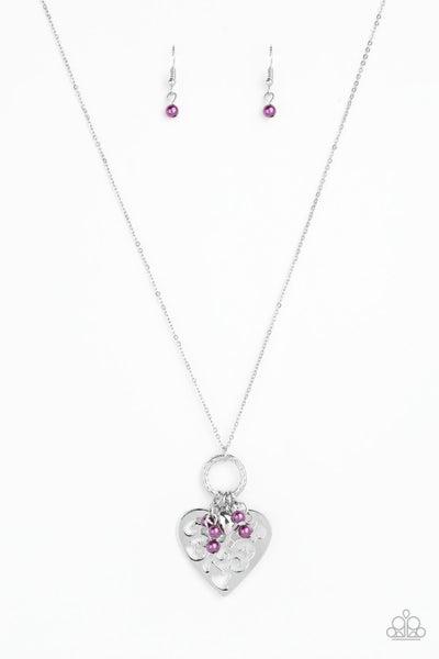 Romeo Romance Purple Necklace