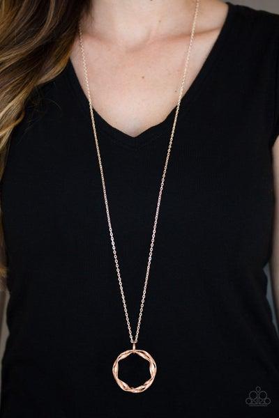 Millennial Minimalist Copper Necklace