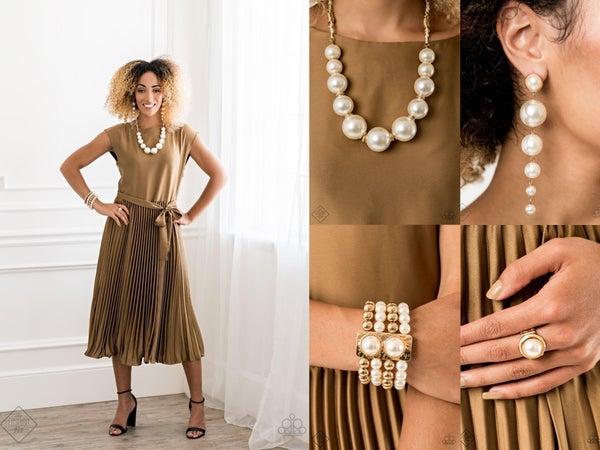 Pearly Prosperity Gold Fashion Fix