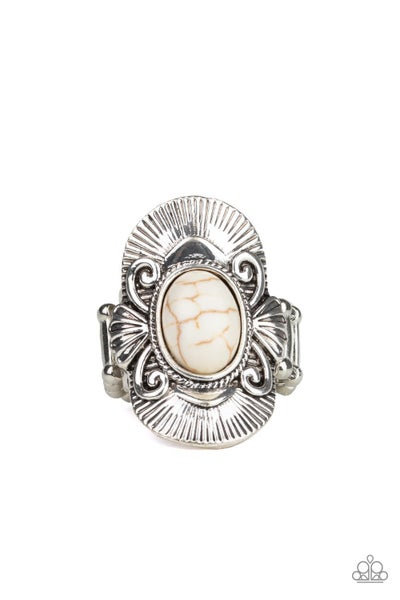 Oracle Oasis White Ring