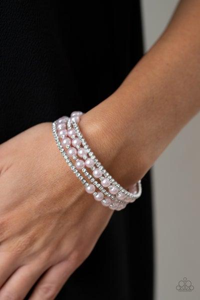 Starry Strut Pink Bracelet