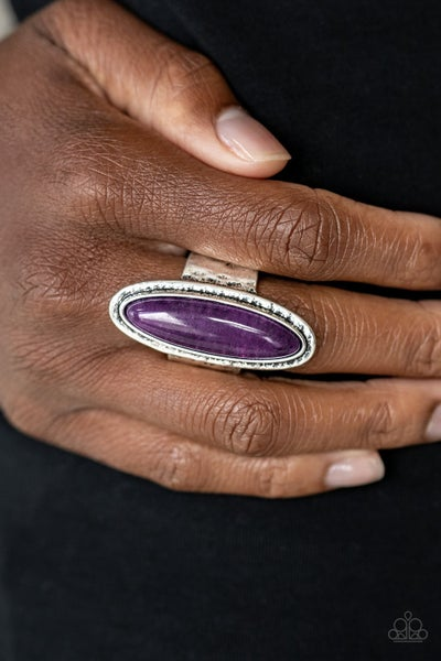 Stone Mystic Purple Ring