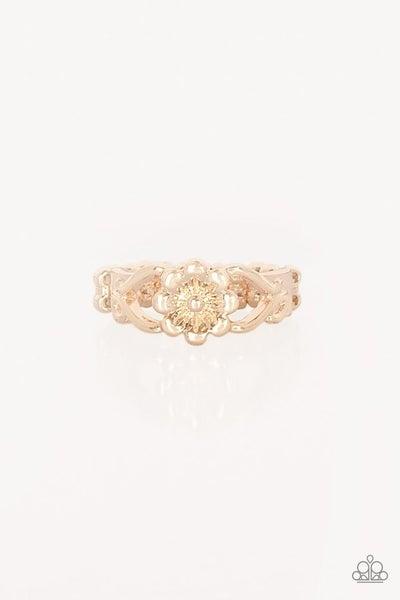 Galapagos Gardens Rose Gold Ring