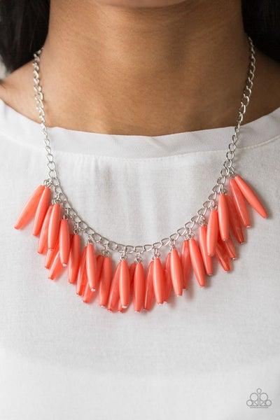 Full of Flavor Orange Necklace