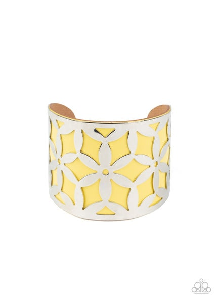 Garden Fiesta Yellow Bracelet