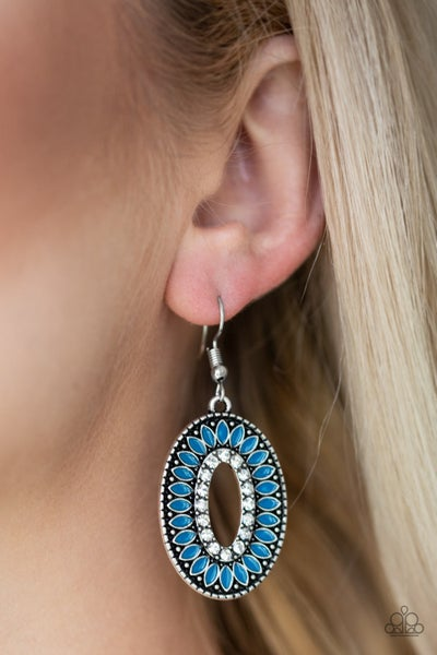 Fishing For Fabulous Blue Earrings
