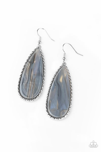 Ethereal Eloquence Silver Earrings