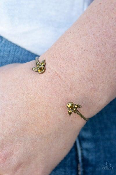A Bit Rich Brass Bracelet