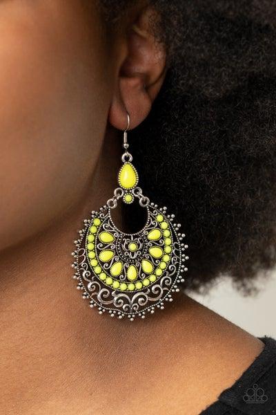 Laguna Leisure Yellow Earrings