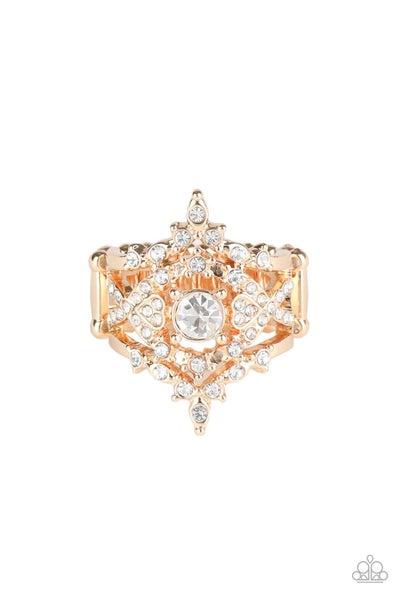 Royal Love Story Rose Gold Ring