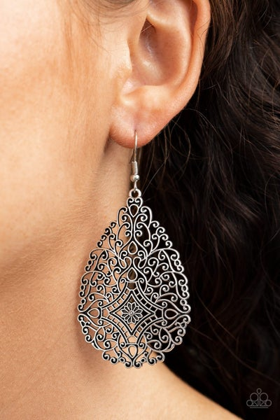 Napa Valley Vintage Silver Earrings