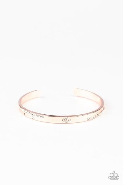 Dainty Dazzle Rose Gold Bracelet