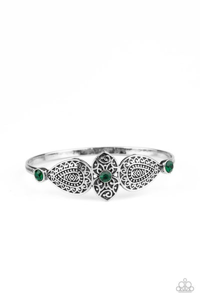 Flourishing Fashion Green Bracelet