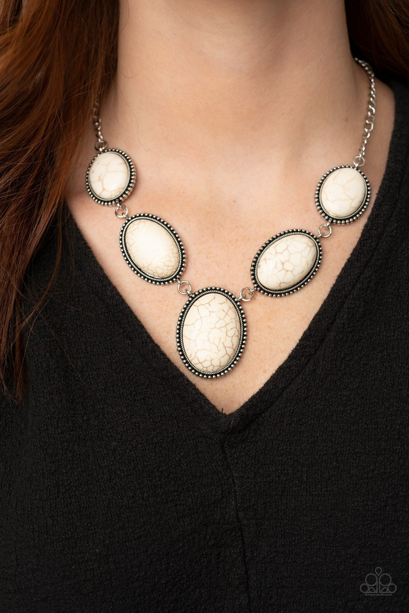 River Valley Radiance White Necklace