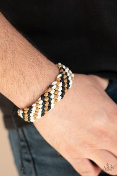 Weave No Trace Black Bracelet