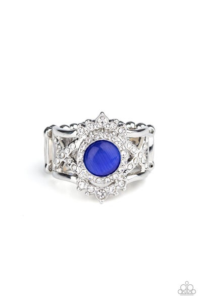 Decadently Dreamy Blue Ring