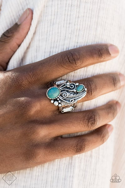 Desert Nest Turquoise Ring