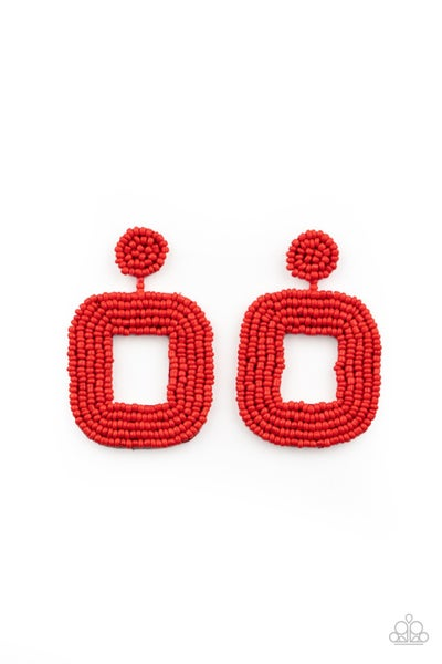 Beaded Bella Red Posts