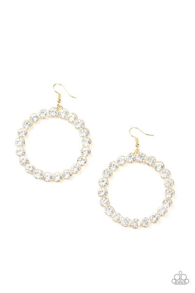 Welcome to the Glam-boree Gold Earrings
