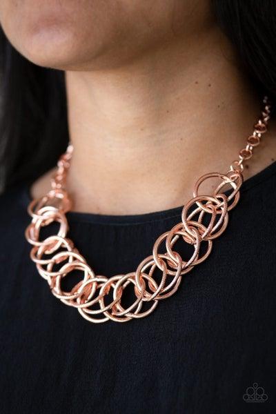 Heavy Metal Hero Copper Necklace