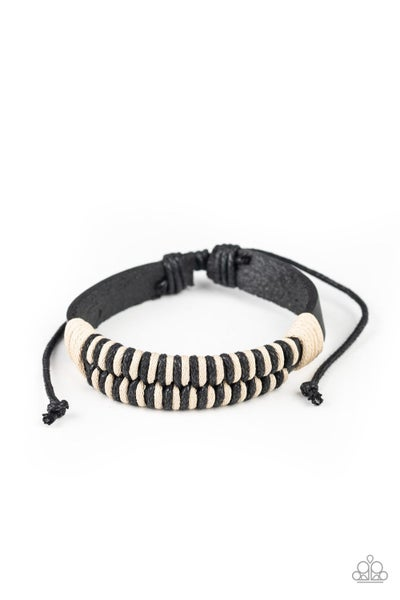 Trail Time Black Urban Bracelet