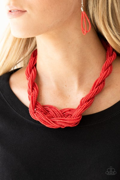 A Standing Ovation Red Necklace