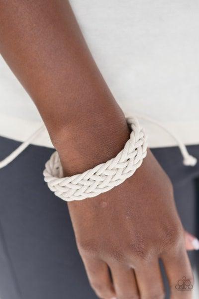 Braid Raid White Urban Bracelet