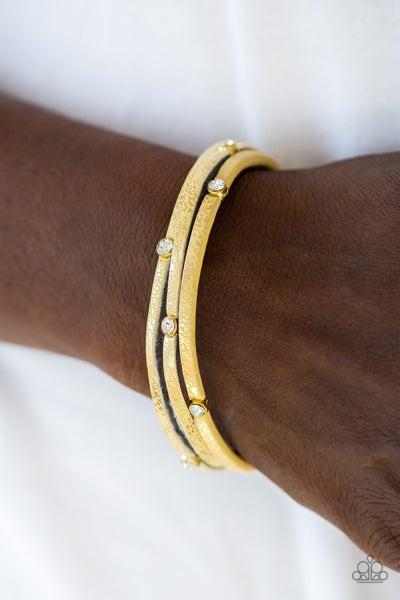 Drop A Shine Yellow Bracelet