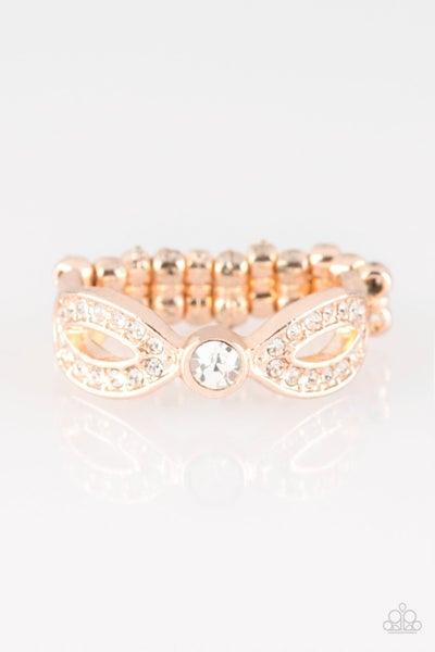 Extra Side Of Elegance Rose Gold Ring