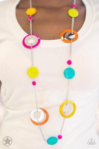 Kaleidoscopically Captivating Multi Necklace