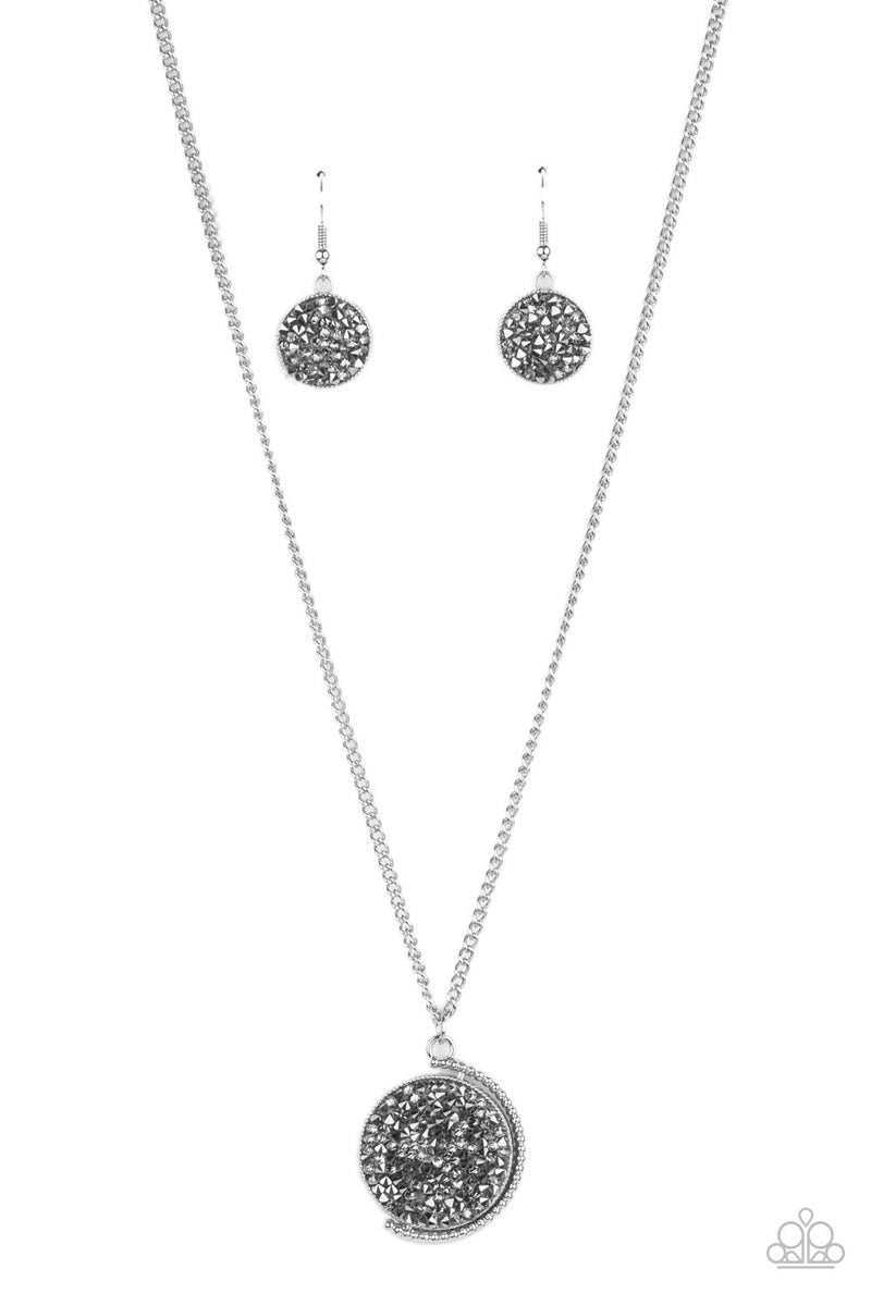 My Moon and Stars Silver Necklace