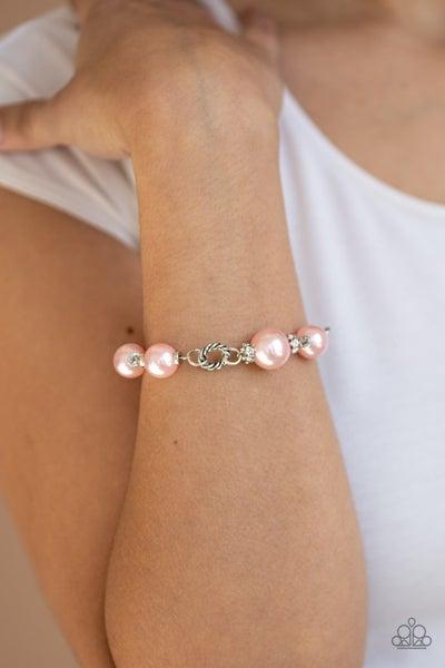 Boardroom Baller Pink Bracelet