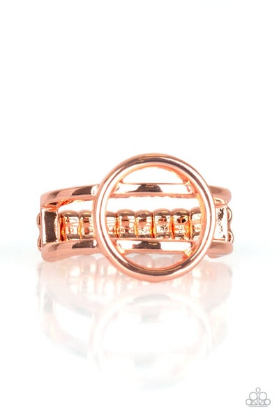 City Center Chic Copper Ring