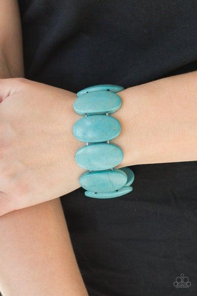 Dramatically Nomadic Turquoise Bracelet