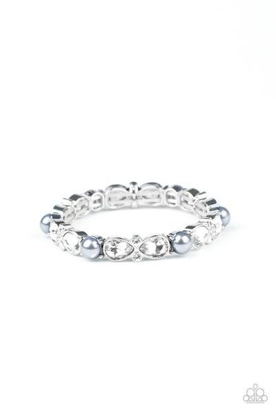 Frosted Finery Silver Bracelet