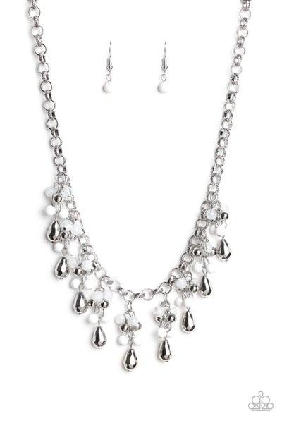 Traveling Trendsetter White Necklace