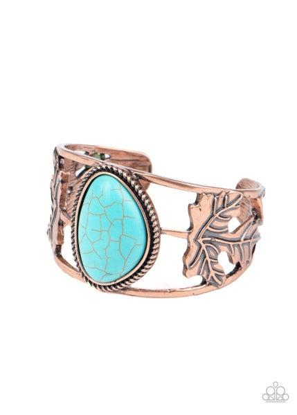 Sahara Seasons Turquoise Copper Bracelet