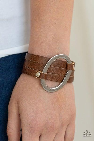 Cowgirl Cavalier Brown Bracelet