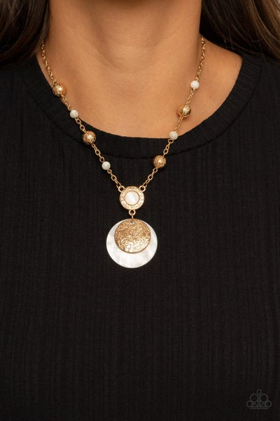 SEA The Sights Gold Necklace