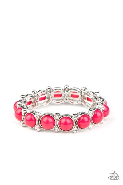 Flamboyantly Fruity Pink Bracelet
