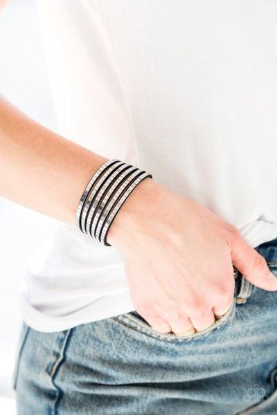 Disco Dazzle Black Bracelet
