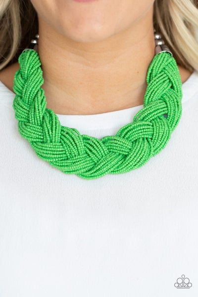 The Great Outback Green Necklace