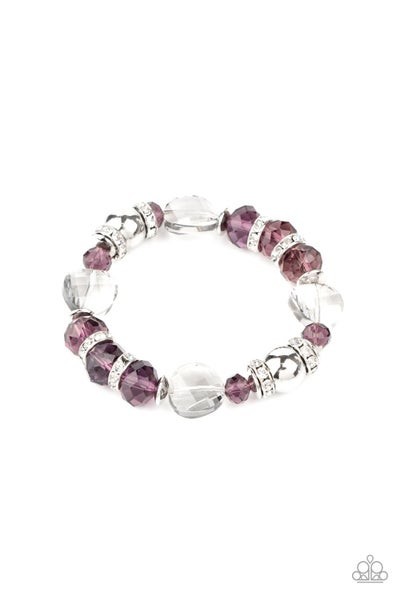 Treat Yourself Purple Bracelet