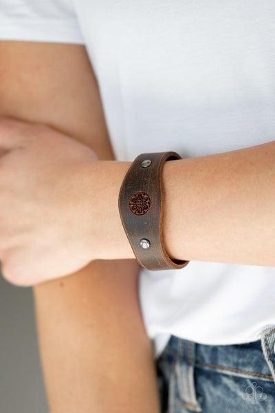 Pleasantly Pioneer Brown Urban Bracelet
