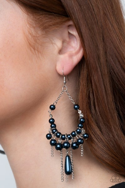 Party Planner Posh Blue Earrings