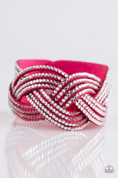Big City Shimmer Pink Bracelet