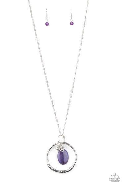 Zion Zen Purple Necklace